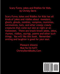 Funny Halloween Poems That Rhyme Scary Funny Jokes And Riddles For Kids Volume 3 Christy Davis