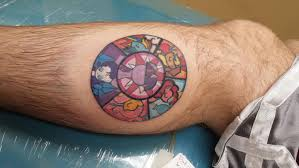 finished mlp stained glass tattoo mylittlepony