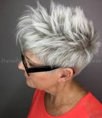 trendy gray hair styles short hairstyles over 50 short hairstyle for grey hair trendy