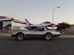 1978 corvette stingray 1978 corvette silver anniversary with f16 thunderbird corvette