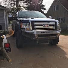 Weld It Yourself Ford Bumper Move