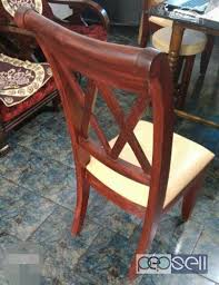 6 wooden chairs for sale at elinjipra chalakudy