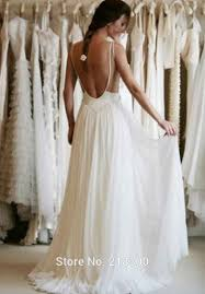 wedding dresses open back lace backless chiffon wedding dress open back wedding