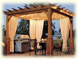Outdoor Cabana Curtains Curtains For Pergola 100 Images Pergola Outdoor Curtains