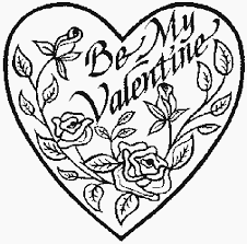 valentine u0027s coloring pages adults valentines hearts