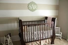 bedroom elegant orange white gradation baby nursery white block