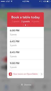 Table Ux by Foursquare Now Lets You Make Opentable Reservations Without