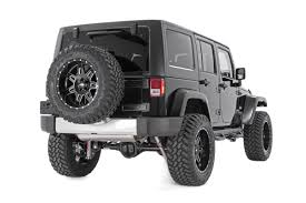 white and pink jeep 3 5in suspension lift kit for 07 17 jeep jk wrangler unlimited