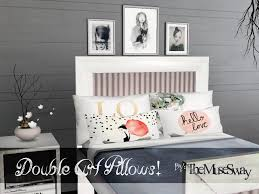 Sims 3 Kitchen Ideas by My Sims 3 Blog Double Art Pillows By The Muse Sway Sims 3