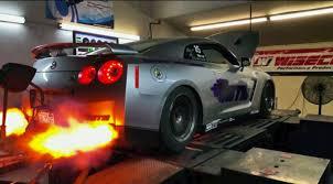 Nissan Gtr Horsepower - gt r maxes out dyno at 2000hp