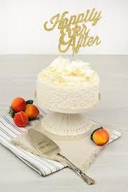 ever after wedding cake set