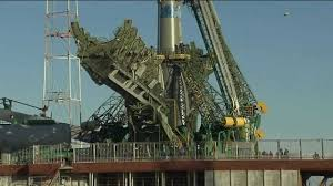 expedition 38 soyuz rolls out to launch pad youtube