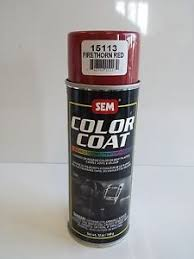 sem 15113 firethorn red vinyl restoration auto body shop car paint