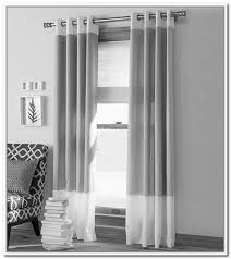 Gray Window Curtains Gray And White Curtains Starlight Moonlight Sheer White U0026