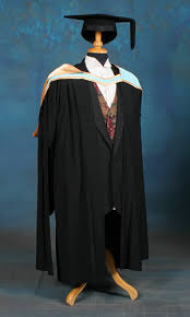 master s gown and masters gown dressed up girl