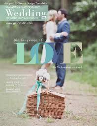 wedding magazine template wedding photography magazine template by savant design templates