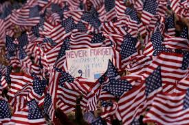 911 Flag Photo Never Forget The Uptake