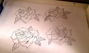 rose tattoo designs by itmustbemetal on deviantart