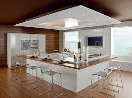 cuisine rectangulaire 107 idées de îlot central de cuisine fonctionnel et convivial