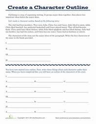 character development worksheets worksheets