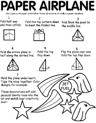 paper airplane coloring page crayola com