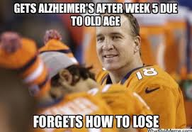 Broncos Funny Memes - peyton manning santa and more top ecards and memes of last week