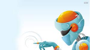 robot hd background wallpaper 09669 baltana