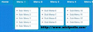 cara membuat menu dropdown keren cara membuat menu navigasi di blog template evo magz ala mas sugeng