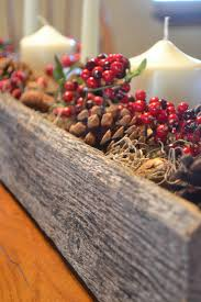 Rustic Christmas Centerpieces - rustic christmas centerpiece from a reclaimed pallet my modern