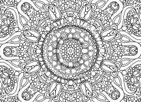 detailed coloring pages adults wallpaper download
