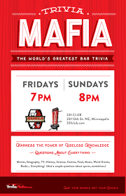 trivia for thanksgiving 331 club ne minneapolis never a cover