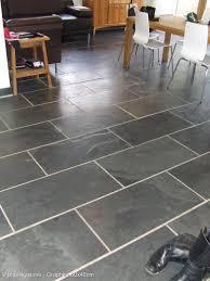 kitchen flooring idea black and grey slate floor wall tiles kitchen bathroom ideas with