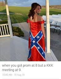 Prom Meme - white people getting creative with prom dresses rebrn com