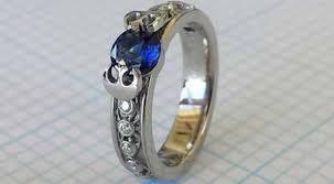 wars wedding rings 21 wedding rings inspired by the wars saga
