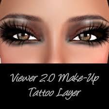second life marketplace 2 0 make up tattoo cat eye