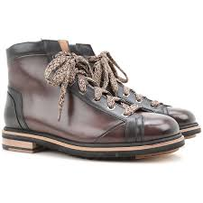 fashion 2016 new mens shoes sale santoni boots brown w55p5225