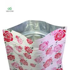mylar gift wrap gruiter 100 flower petals designed mylar resealable flat ziplock