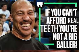 Donation Meme - donate to get lavar ball some white teeth
