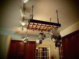 kitchen island pot rack lighting pot rack pendant light runsafe