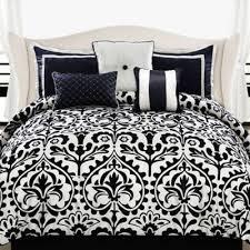 Queen Comforter On King Bed Buy Black Queen Comforter From Bed Bath U0026 Beyond