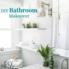 Before After Bathroom Makeovers - bathroom makeover diy show off diy decorating and home