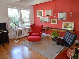 Red Ottoman Astonishing Red Living Room Decorating Ideas Living Room Hanging