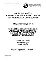100 ib english hl 2014 guide paper one u2013 year 11 ibdp