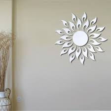 new hot sale mirror style removable decal art mural wall sticker see larger image