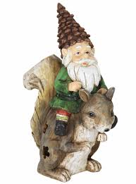 solar gnome squirrel only 49 99 at garden