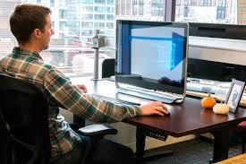 jarvis standing desk review uplift desk review digital trends