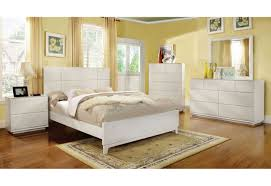 White Classic Bedroom Furniture Import Furniture Of America Felica Traditional Bedroom Set White