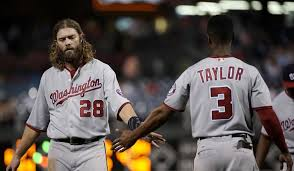Phillies Prepare For Life Without - michael taylor homers to lead nationals past phillies washington times