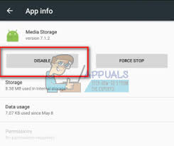 unfortunately the process android process media has stopped fix android process media has stopped