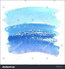 abstract background watercolor brush paint texture stock vector